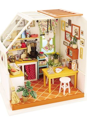 Hands Craft Miniature Dollhouse Kit Jason's Kitchen