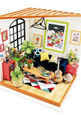 Hands Craft Miniature Dollhouse Kit Lucus' Sitting Room