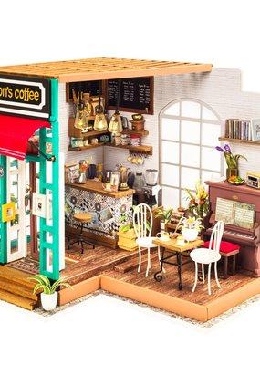 Hands Craft Miniature Dollhouse Kit Simon's Coffee