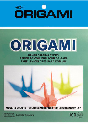 Aitoh Origami Paper Modern Solid Colors