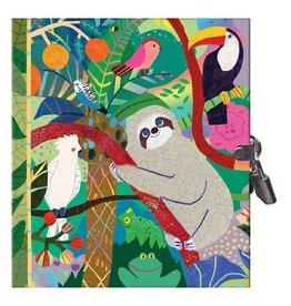 eeBoo Locking Journal Sloth