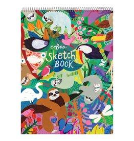 eeBoo Sketchbook Sloths