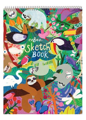 eeBoo Sketchbook Sloths