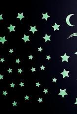 Gloplay Glow in the Dark Stickers Starry Night