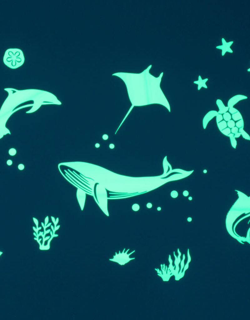 Gloplay Glow in the Dark Stickers Sea Animals