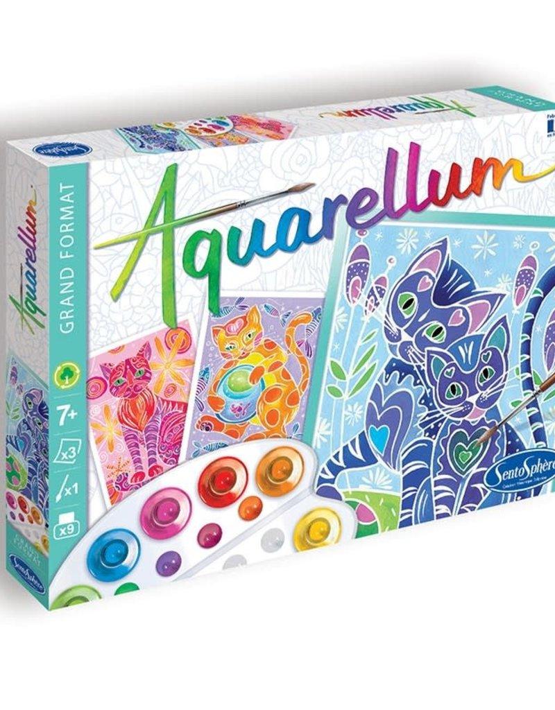 Sentosphere Aquarellum Cats