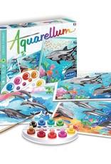 Sentosphere Aquarellum Dolphins