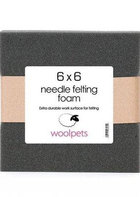 Woolpets Needle Felting Foam Pad 6 x 6