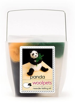 Woolpets Needle Felting Kit Panda