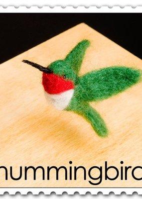 Woolpets Needle Felting Kit Hummingbird