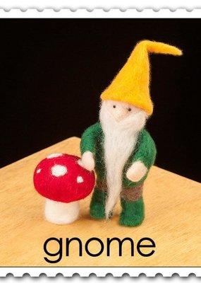 Woolpets Needle Felting Kit Gnome