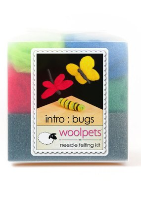 Woolpets Needle Felting Kit Bugs