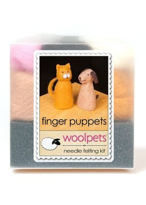 Woolpets Needle Felting Kit Finger Puppets