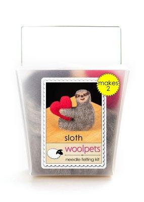 Woolpets Needle Felting Kit Sloth