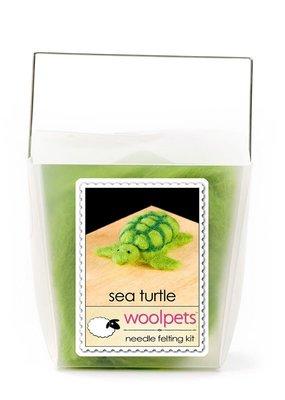 Woolpets Needle Felting Kit Sea Turtle