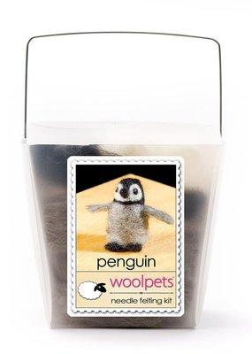 Woolpets Needle Felting Kit Penguin