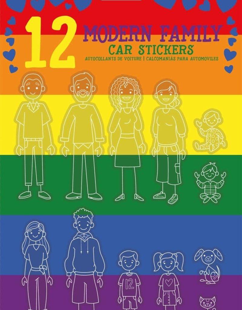 GamaGo Modern Family Car Stickers
