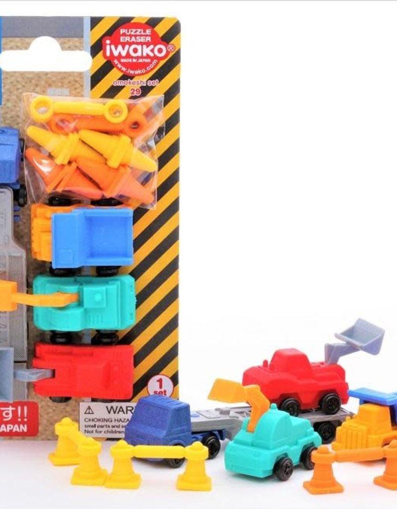 Construction Eraser Card
