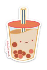 Ilootpaperie Sticker Boba Milk Tea