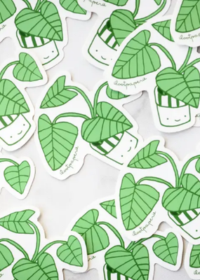 Ilootpaperie Sticker Happy Plant