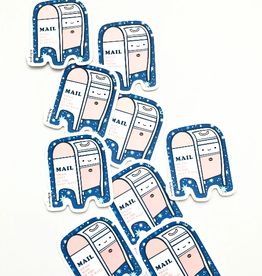 Ilootpaperie Sticker Cosmic Mailbox
