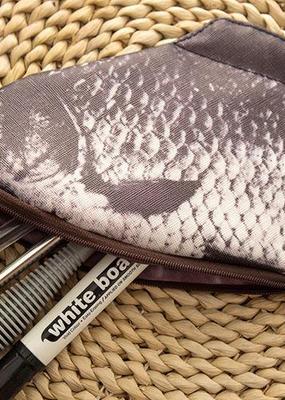 collage Fish Pencil Case