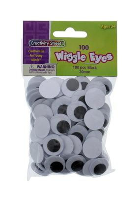 Creativity Street Googly Eyes 20mm 100 Pack