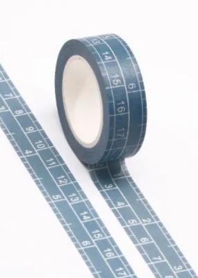 Washi Blue Ruler