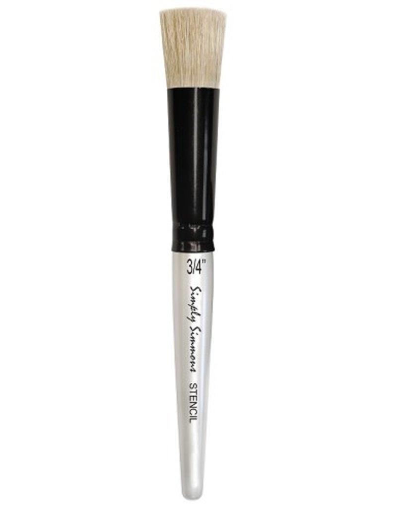 "Robert Simmons Simply Simmons Stencil Brush 3/4"""