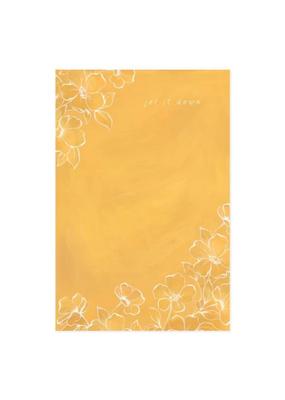 1 Canoe 2 Notepad Golden Poppy