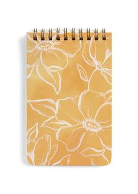 1 Canoe 2 Spiral Notepad Golden Poppy