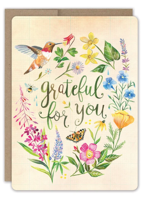 Biely & Shoaf Co. Boxed Card Grateful