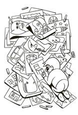 Gingko Press Family Fun Coloring Book