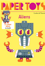 Gingko Press Paper Toys Aliens