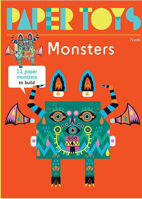 Gingko Press Paper Toys Monsters
