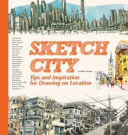 Gingko Press Sketch City Tips & Inspiration for Drawing on Location