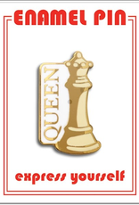The Found Enamel Pin Queen Chess Piece