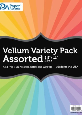 Paper Accents Vellum Variety Pack