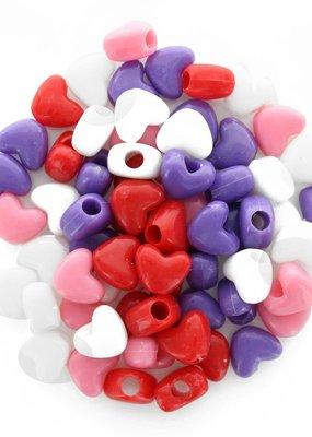 Leisure Arts Heart Beads