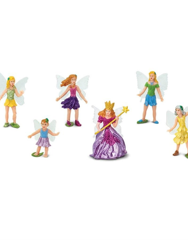 Safari Fairy Fantasy Figurine Set