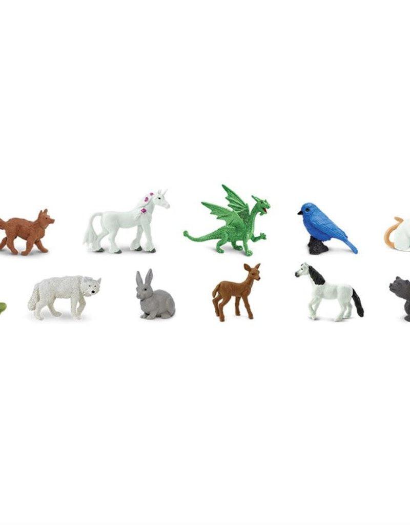 Safari Fairy Tale Animal Figurine Set