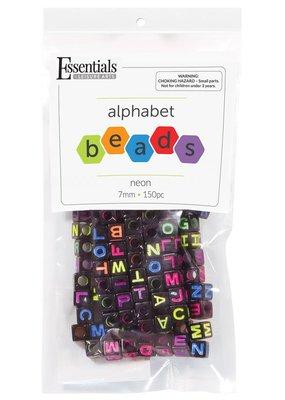 Leisure Arts Neon Alphabet Beads
