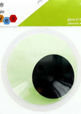 Leisure Arts Glow in the Dark Googly Eyes 6 Inch