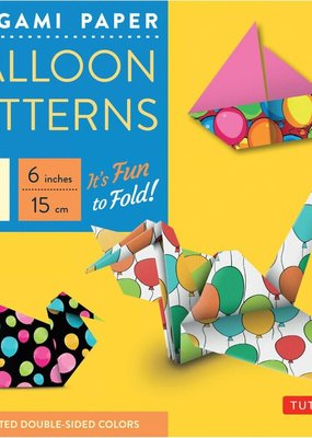 Tuttle Publishing Origami Paper Balloon Patterns