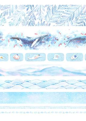 collage Washi Set Blue