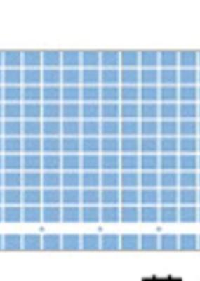 collage Washi Grid Blue