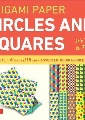 Tuttle Publishing Origami Paper Circles & Squares