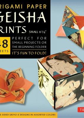 Tuttle Publishing Origami Paper Geisha Prints