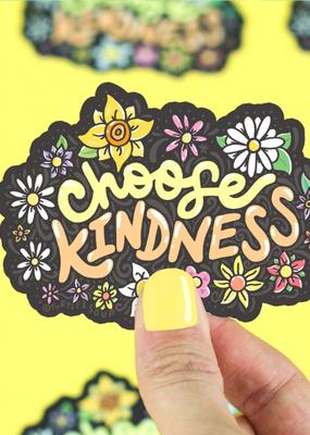Turtle's Soup Vinyl  Sticker Choose Kindness