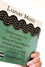 Rikrack Embroidery Kit Lunar Moth